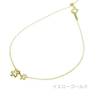 Polani フラワー アンクレット(ゴールド) 販売価格 14,040円 (税込)