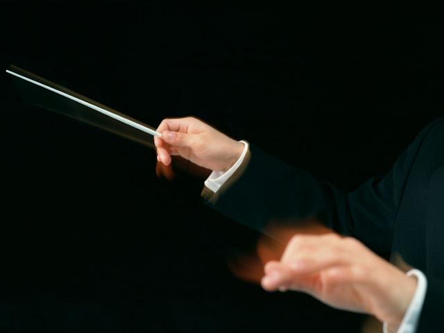 指揮者の腕